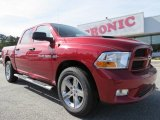 2012 Deep Cherry Red Crystal Pearl Dodge Ram 1500 Express Crew Cab 4x4 #72902621