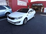 2013 Snow White Pearl Kia Optima SX Limited #72902788