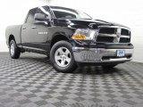 2012 Black Dodge Ram 1500 SLT Quad Cab 4x4 #72902859
