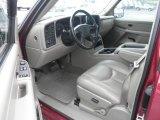 2006 Chevrolet Silverado 1500 Hybrid Extended Cab 4x4 Medium Gray Interior