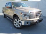 2013 Pale Adobe Metallic Ford F150 Lariat SuperCrew 4x4 #72945580