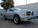2009 Bright Silver Metallic Dodge Ram 1500 Lone Star Edition Crew Cab #72945922