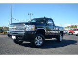 2009 Black Chevrolet Silverado 1500 Regular Cab #72945823