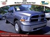 2010 Mineral Gray Metallic Dodge Ram 1500 SLT Quad Cab 4x4 #72945908