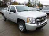 2010 Chevrolet Silverado 1500 LT Extended Cab Front 3/4 View