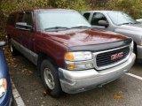 2001 Dark Toreador Red Metallic GMC Sierra 1500 SLE Extended Cab 4x4 #72945981