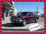 2004 Deep Molten Red Pearl Dodge Dakota SLT Club Cab 4x4 #72945560