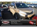 2011 Sandy Beach Metallic Toyota Sienna XLE AWD #72945384
