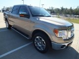 2012 Pale Adobe Metallic Ford F150 Lariat SuperCrew #72945972