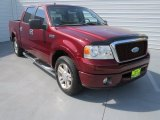 2006 Dark Toreador Red Metallic Ford F150 Lariat SuperCrew #72945593