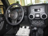 2012 Jeep Wrangler Call of Duty: MW3 Edition 4x4 Dashboard