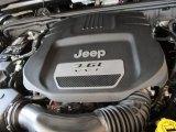 2012 Jeep Wrangler Call of Duty: MW3 Edition 4x4 3.6 Liter DOHC 24-Valve VVT Pentastar V6 Engine
