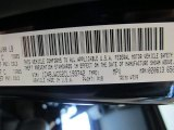 2012 Wrangler Color Code for Black - Color Code: PX8