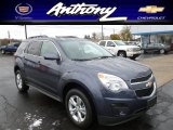 2013 Atlantis Blue Metallic Chevrolet Equinox LT AWD #72945955