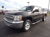 2012 Black Granite Metallic Chevrolet Silverado 1500 LT Crew Cab 4x4 #72945708