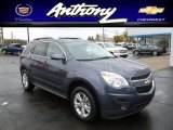 2013 Atlantis Blue Metallic Chevrolet Equinox LT AWD #72945953