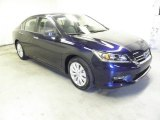 2013 Obsidian Blue Pearl Honda Accord EX-L Sedan #72945796
