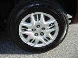 Dodge Caravan 2002 Wheels and Tires