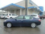 2013 Obsidian Blue Pearl Honda Accord EX-L Sedan #72945861