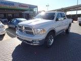 2012 Bright White Dodge Ram 1500 Laramie Crew Cab 4x4 #72945693