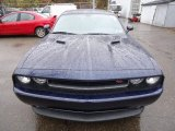 Jazz Blue Pearl Dodge Challenger in 2013