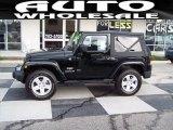 2012 Black Jeep Wrangler Sahara 4x4 #72945684