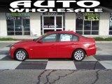 2007 Crimson Red BMW 3 Series 328xi Sedan #72945682