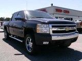 2008 Dark Blue Metallic Chevrolet Silverado 1500 Z71 Crew Cab 4x4 #7285554