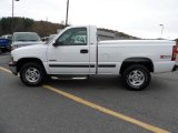 2002 Summit White Chevrolet Silverado 1500 LS Regular Cab 4x4 #72945847