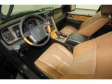 2011 Lincoln Navigator Limited Edition Canyon/Black Interior