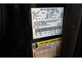 2011 Navigator Color Code for Black - Color Code: UH