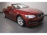 2011 Vermillion Red Metallic BMW 3 Series 328i Convertible #72945760