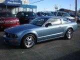 2006 Windveil Blue Metallic Ford Mustang GT Premium Coupe #72992341