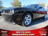 2013 Pitch Black Dodge Challenger SXT #72991663