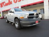 2009 Bright Silver Metallic Dodge Ram 1500 ST Crew Cab #72991534
