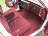 1990 Cadillac Brougham Interiors