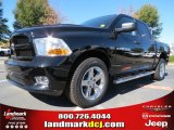 2012 Black Dodge Ram 1500 Express Crew Cab 4x4 #72991635