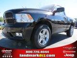 2012 Black Dodge Ram 1500 Express Regular Cab #72991630