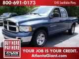 2003 Atlantic Blue Pearl Dodge Ram 1500 SLT Quad Cab #72992060