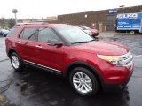 2013 Ruby Red Metallic Ford Explorer XLT 4WD #72991601
