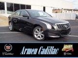2013 Black Diamond Tricoat Cadillac ATS 2.5L #72991385