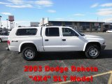 2003 Bright White Dodge Dakota SLT Quad Cab 4x4 #72992119