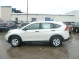 2013 White Diamond Pearl Honda CR-V LX AWD #72992042