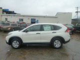 2013 White Diamond Pearl Honda CR-V LX AWD #72992041