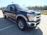 2012 Tuxedo Black Metallic Ford F250 Super Duty Lariat Crew Cab 4x4 #72992261
