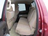 2008 Toyota Tundra Double Cab 4x4 Rear Seat