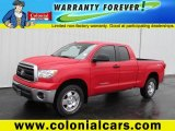 2011 Radiant Red Toyota Tundra TRD Double Cab 4x4 #72992250