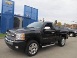 2011 Black Chevrolet Silverado 1500 LT Regular Cab 4x4 #72991557