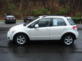 2007 Suzuki SX4 Pearl White