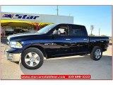 2012 True Blue Pearl Dodge Ram 1500 Lone Star Crew Cab #72991876